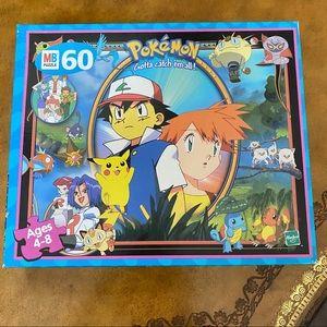 Pokemon 60 piece collectible puzzle